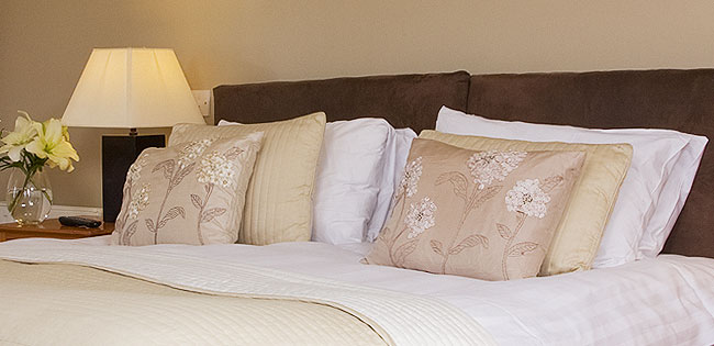 Duvets and pillows